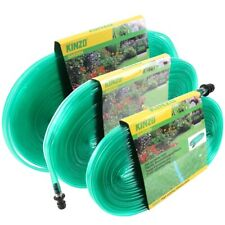 More details for kinzo flat sprinkler hose irrigation pipe soaker watering hosepipe garden spray