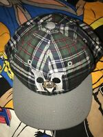Vtg 90s NWT Vtg Mickey Mouse Hat Plaid Goofys Hat Co. Walt Disney Baseball Cap