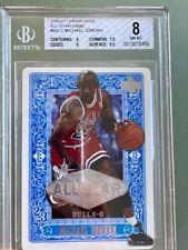 2007 Upper Deck All-Star Game #AS12 Michael Jordan BGS 8 (POP 7) RARE!