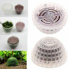 Plastic Aquatic Moss Ball Mineral Aquarium Crystal Shrimp House Fish Tank Decor