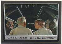 2016 Topps Star Wars Rogue One Mission Briefing Black #61 Cause for Concern?