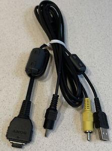 ***GENUINE Sony Camera AV Audio Video Genuine Sony Cable USB