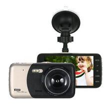Dash Cam Dual Camera  DVR Car Video Recorder Rear View HD 4'' with 8GB TF Card