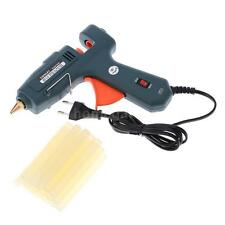 Switch 60/100W Handy Heater Hot Melt Glue Gun Repair Tool + 20x Glue Sticks D4T1