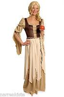 Magd Markt Frei Frau Bäuerin Wirtin Burg Handels Kostüm Kleid Burgdame Freifrau