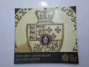 ROYAL MINT UK 2013 £2 350TH ANNIVERSARY OF THE GOLDEN GUINEA WORLD COIN 🌈⭐🌈