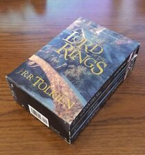 The Lord of the Rings Trilogy J.R.R. Tolkien 3 Volume Edition w Case Paperback