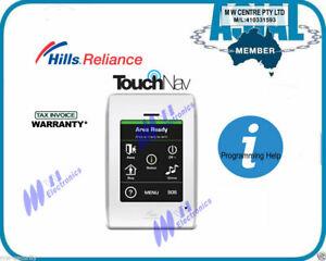 GST incl Hills DAS Alarm Reliance touch screen keypad code pad TouchNav S3237A