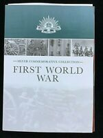 $10 Coin Macquarie Mint FIRST WORLD WAR WITH FOLDER AND CERTIFICATE UNC