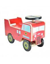 Porteur KIDDIMOTO Camion Pompier trotteur jouet jeu enfant garçon bébé rouge