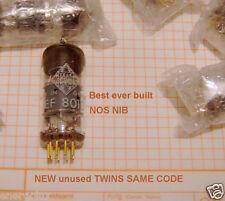 NEU NOS EF8010 Gold PIN Best Zustand Röhre Pentode Telefunken Tube Valve