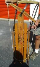 Vintage Flexible Flyer Sled  Airline Junior Racer - Very Good Condition