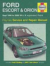 Ford Escort Orion Haynes1737 Manual 1990-00 1.3 1.4 1.6 1.8 Workshop