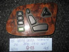 Mercedes-Benz W210 E320 E430 Left seat control switch burl wood 210 820 29 10