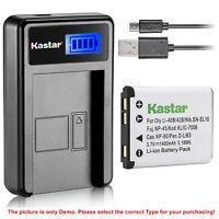 Kastar Battery LCD Charger for Olympus Li-50B & SZ-20 SZ-25MR SZ-30MR SZ-31MR