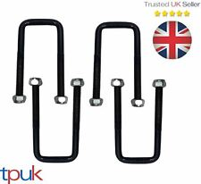 FORD TRANSIT LEAF SPRING U BOLT MK5 94-00 FOR 3.4.5 LEAF SPRINGS FULL SET OF 4