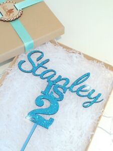 Personalised Aged Cake Topper, Wooden Cake Topper,1st Birthday Topper