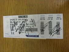 20/10/2012 Autographed Ticket: Tottenham Hotspur v Chelsea  - Hand Signed By Azp