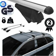 Roof Rack Cross Bars Aluminum Locking fits Toyota Auris Touring Sports 2013 on