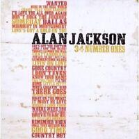 """ALAN JACKSON """"34 NUMBER ONES"""" 2 CD NEU"""