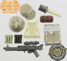"Brickforge German ""Fallschirmjäger"" Accessory Pack for Lego Minifigures WW2 NEW"
