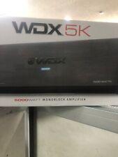 db Drive WDX 5K Class D Monoblock Amplifier / 5000 Watts   New