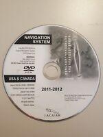 Jaguar Navigation Map Disc 6W83-10E898-BH West Coast 2008- 2013