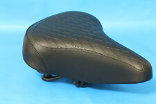 Bicycle Saddle Womens Retro Soft Sprung Quilted Vintage Style Ladies Bike Seat