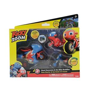 Ricky Zoom Steel Awesome And The Biker Buddies Ricky & Loop Brand New