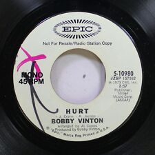 Pop Promo Nm! 45 Bobby Vinton - Hurt / Hurt On Epic