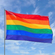 EG/_anmutige Regenbogen Flagge langlebig groß Polyester Lesbian gay-pride Symbol