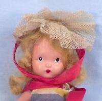 Alice Sweet Alice Nancy Ann Storybook Doll #22 Bisque Frozen Legs in Box Vintage