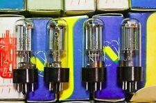 NEW in BOX 4pcs 5C4S =  5Z4G ~ CV1863 ~ GZ32 RECTIFIER TUBES mid 70`s