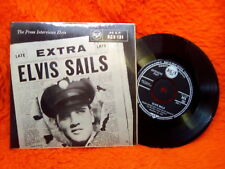 ELVIS PRESLEY EP 45T THE PRESS INTERVIEWS ELVIS SAILS RCA RCX 131 GREAIT BRITAIN