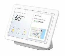 "Google Home Hub with Google Assistant Smart 7"" Display Chalk Grey NEW & SEALED"