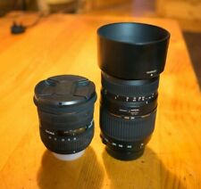 Tamron 70-300mm F4-5.6 And Sigma 10-20mm F3.5 Bother For Nikon Aps-c