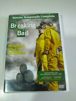 Breaking Bad Terza Stagione 3 Completa - 4 X DVD Spagnolo Inglese - 3T