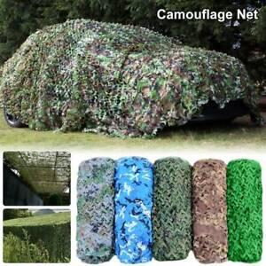 Filet de camouflage Oxford Camo Net Camping Hide Armée Chasse Tissu Woodland  RD