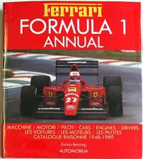 FERRARI FORMULA 1 ANNUAL 1989 ENRICO BENZING ISBN:8885880169 CAR BOOK