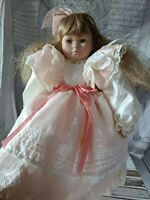 Corolle curly girl doll 855 AS IS 21″ blonde vintage
