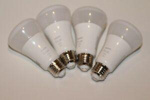 Philips Hue 476977 White A19 LED Smart Bulb 4-Pack