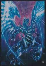 100 Yugioh Small Size Card Sleeves Protector - Blue-Eyes White Dragon Chaos Max