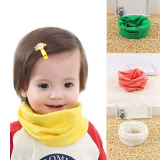 Scarf Kids Girl Warm Boy Baby Breathable Knit Toddler Cotton Winter Candy Colors