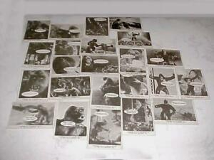 1965 DONRUSS KING KONG 48 CARD SET OUT OF 55 NO DUPLICATES VERY CLEAN