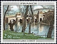 "FRANCE STAMP TIMBRE N° 1923 "" OEUVRE DE J.B. CAMILLE COROT "" NEUF xx TTB"