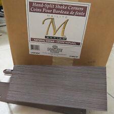Nailite M Series Exterior Hand Split Shake Corner, natural cedar