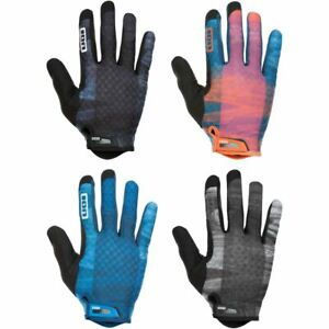 ION Traze Gloves 2021 MTB Mountain Bike Full Finger Protection Enduro Trail New