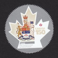 THE CONSTITUTION = CANADA 150 = Stamp from Minisheet Canada 2017 #2999f MNH VF