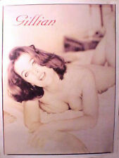 GILLIAN ANDERSON Poster X-Files HOT & SEXY! IN BED
