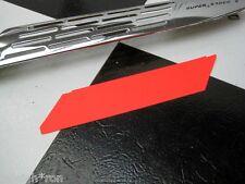 "Neon Orange Huffy Rail Muscle Bike Bicycle Card stock Chainguard ""INSERT"""
